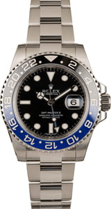 Used Rolex GMT Master II Ref 116710 Ceramic 'Batman' Insert