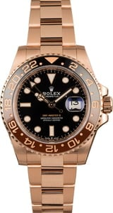 Pre-Owned Rolex GMT-Master II Ref 126715 New Everose 'Root Beer' Model