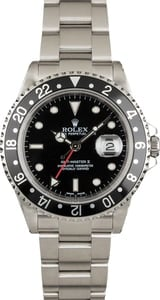 Rolex GMT-Master II Ref 16710 Black Timing Bezel