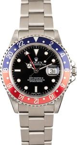 Rolex GMT-Master II Ref 16710 Black Luminous Dial