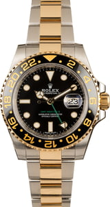 Rolex GMT Master II Two Tone 116713 Black