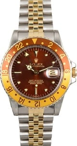 Rolex GMT-Master Two-Tone 16753 Root Beer