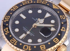 Rolex GMT Master II Stainless Steel and Gold Mens 116713
