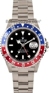 Rolex Pre-owned Men's GMT-Master II 16710