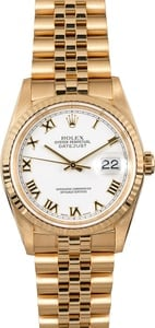 Rolex Gold Datejust 16238