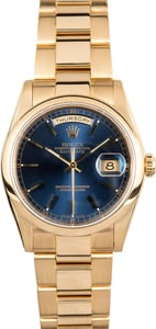 Rolex Gold Day-Date 118208 Oyster