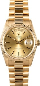 Rolex Gold Day-Date Presidential 18238