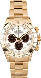 Rolex Gold Daytona 116528 Certified Pre-Owned