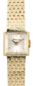Rolex Ladies Cocktail Watch Yellow Gold