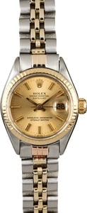 Vintage Rolex Lady Date 6917 Champagne