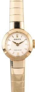 Yellow Gold Ladies Rolex Cocktail Watch 9420