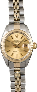 Vintage Rolex Lady Date 6917 Tiffany & Co Dial