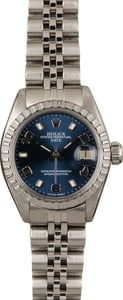 Used Rolex Lady Date 6917 Steel Jubilee