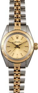 Vintage Rolex Lady Datejust 6719 Two Tone