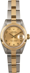 Rolex Lady Datejust 79163 Champagne Arabic Dial