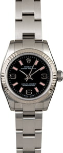 Ladies Rolex Oyster Perpetual 176234 Pink Index Markers
