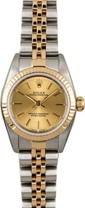 Rolex Oyster Perpetual 76193 Champagne Dial