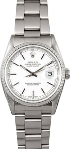 Rolex Men's Datejust 16220 Stainless