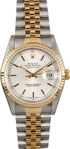 Rolex Mens Datejust 16233 - Certified Pre-Owned