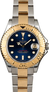 Rolex Mid-Size Yacht Master 68623 Blue Dial