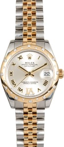 Rolex Mid-size Datejust 178343 Diamond Bezel