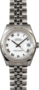 Rolex Mid-Size Datejust 178274 White Dial