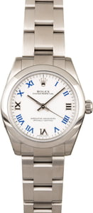 Rolex Oyster Perpetual 177200 White Dial