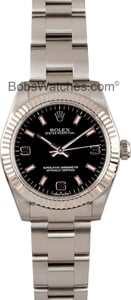 Rolex Oyster Perpetual 177234BKSAO Midsize Watch