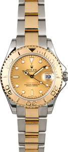 Rolex Mid-Size Yacht-Master 168623 Champagne Dial
