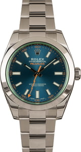 Rolex Milgauss 116400GV Blue Dial Pre-Owned