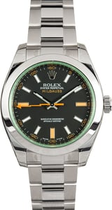 Rolex Milgauss 116400GV Factory Stickers
