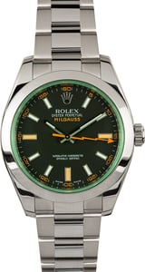 Rolex Milgauss Black 116400GV 100% Authentic