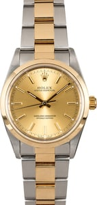 Rolex Oyster Perpetual 14203 Champagne Dial