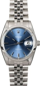 Rolex Oyster Date 6694 Blue Index Dial