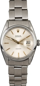 Rolex Oyster Date 6694 Silver Dial