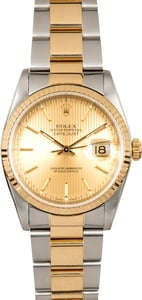 Rolex Oyster Datejust 16233 Tapestry Dial