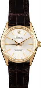 Rolex Oyster Perpetual 1002 Yellow Gold Case