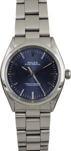Rolex Oyster Perpetual 1002 Blue Dial