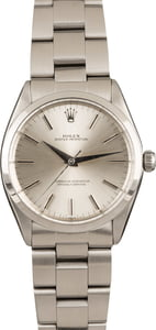 Pre-Owned Rolex Oyster Perpetual 1002 Silver Index