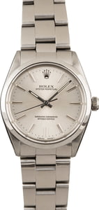 Rolex Oyster Perpetual 1002 Smooth Steel Bezel