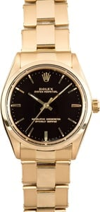 Vintage Rolex Oyster Perpetual 1002 Black
