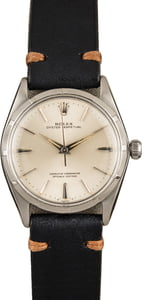 Vintage Rolex Oyster Perpetual 1003 Silver Dial