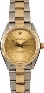 Vintage Rolex Oyster Perpetual 1005 Two Tone Oyster
