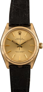 Pre-Owned Rolex Oyster Perpetual 1005 Champagne Dial