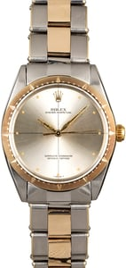 Rolex Oyster Perpetual 1008 Silver Quadrant Dial