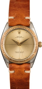 Rolex Oyster Perpetual 1008 Champagne Quadrant Dial