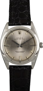Vintage Rolex Oyster Perpetual 1018 Silver Dial