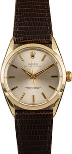 Pre-Owned Rolex Oyster Perpetual 1024 Silver Dial