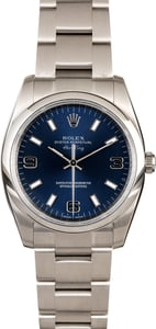 Rolex Oyster Perpetual 114200 Blue Dial