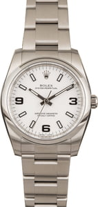 Rolex Oyster Perpetual 114200 White Dial